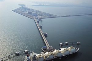 LNG Terminal Gwangyang completed