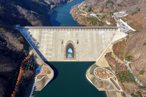 Peace Dam Flood Control Capability Enhancement completed